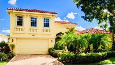 Wellington Single Family Home For Sale: 8840 Via Prestigio W