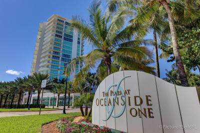 Pompano Beach Condo For Sale: 1 Ocean Boulevard #501