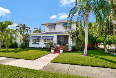 West Palm Beach Single Family Home For Sale: 442 28th Street