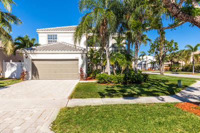 Lake Worth Single Family Home For Sale: 7557 Ridgefield Lane
