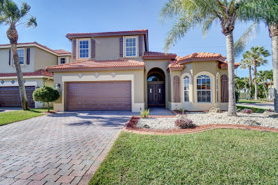 Boynton Beach Single Family Home For Sale: 7971 Saw Palmetto Lane