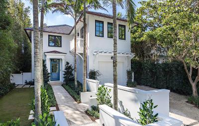 Palm Beach Single Family Home For Sale: 412 Brazilian Avenue