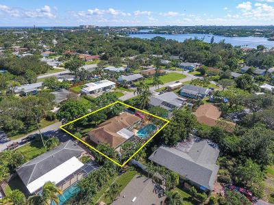 Jupiter Single Family Home For Sale: 1512 Donald Road