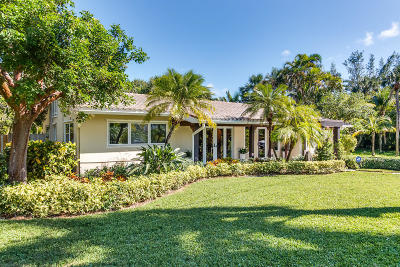 Lantana Single Family Home Contingent: 210 SE Atlantic Drive