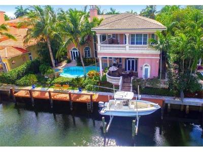North Palm Beach Single Family Home For Sale: 833 Harbour Isles Place