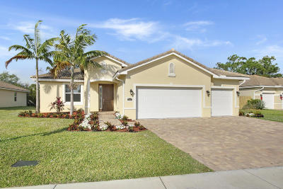 Jensen Beach Single Family Home For Sale: 443 NE Abaca Way