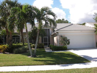boynton beach Single Family Home For Sale: 7757 Rockford Road