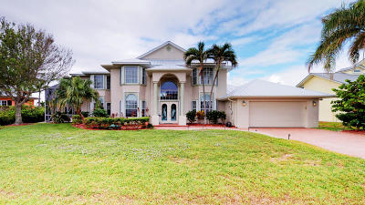 Hutchinson Island FL Single Family Home For Sale: $899,900