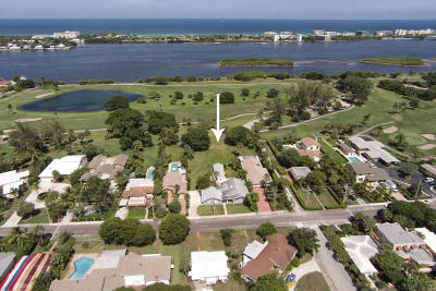 Lake Worth Single Family Home For Sale: 1408 Lakeside Drive