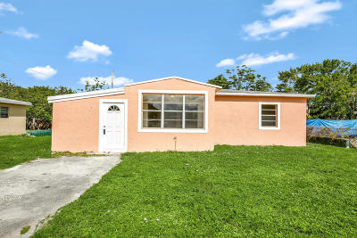 Fort Lauderdale Single Family Home For Sale: 1523 NW 14th Street