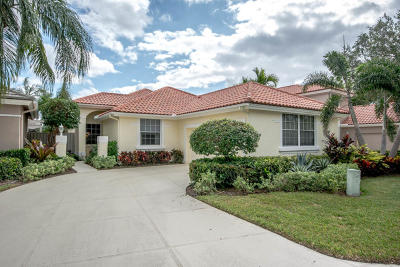 Palm Beach Gardens Single Family Home For Sale: 218 Eagleton Lake Boulevard