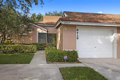 Boca Raton Single Family Home For Sale: 8429 Winding Steam Lane