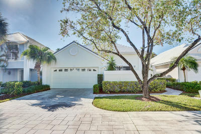 Palm Beach Gardens Single Family Home For Sale: 23 Brighton Court