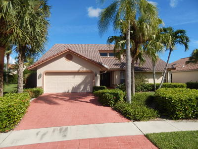 Boca Raton Single Family Home For Sale: 23017 L'ermitage Circle