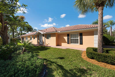 Palm Beach Gardens Single Family Home For Sale: 5045 Magnolia Bay Circle