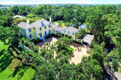 Gulf Stream, Ocean Ridge Single Family Home For Sale: 1200 Ocean Boulevard