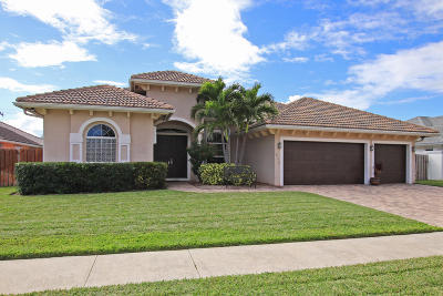Tequesta Single Family Home Contingent: 513 Cypress Drive