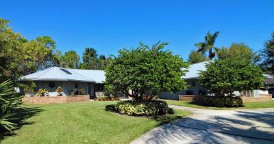 Palm City Single Family Home For Sale: 6371 SW Thistle Terrace