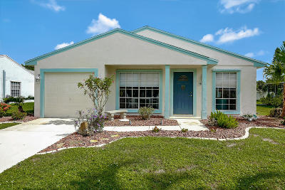 Boca Raton Single Family Home Contingent: 8276 Barnyard Way