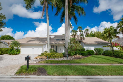 Boca Raton Single Family Home For Sale: 17866 Foxborough Lane