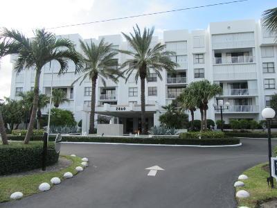 Palm Beach Condo For Sale: 2860 S Ocean Boulevard #208