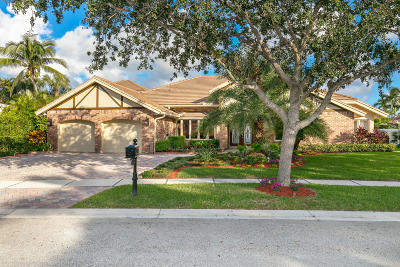 Boca Raton FL Single Family Home For Sale: $969,000