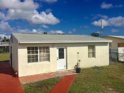 Lake Worth Single Family Home For Sale: 2910 Giuliano Avenue