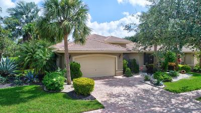 Boynton Beach Single Family Home For Sale: 11012 Via Sorrento