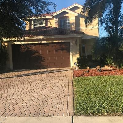 Greenacres Single Family Home For Sale: 5411 Wellcraft Drive