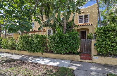 West Palm Beach Single Family Home For Sale: 1901 Florida Avenue