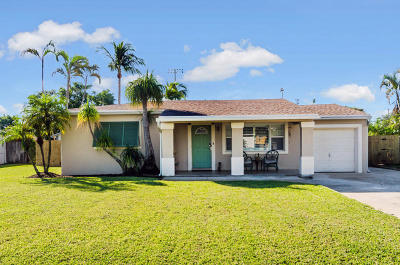 Delray Beach Single Family Home For Sale: 310 Gulfstream Drive