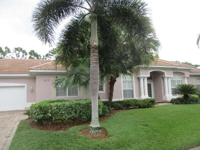 Palm City Single Family Home For Sale: 1913 SW Bradford Place