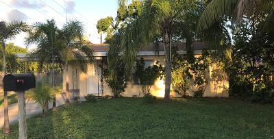 Lake Worth Single Family Home For Sale: 1130 E Street