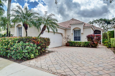 Boynton Beach Single Family Home For Sale: 5196 Brookview Drive