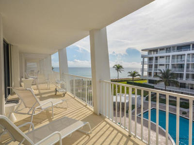 Palm Beach Condo For Sale: 2600 S Ocean Boulevard #304 N