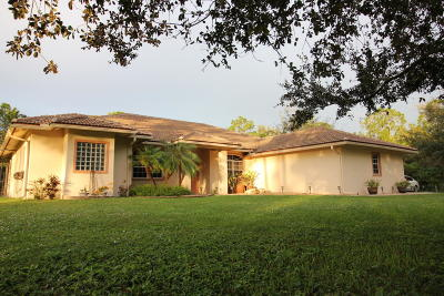 Loxahatchee Single Family Home For Sale: 16827 78 Road