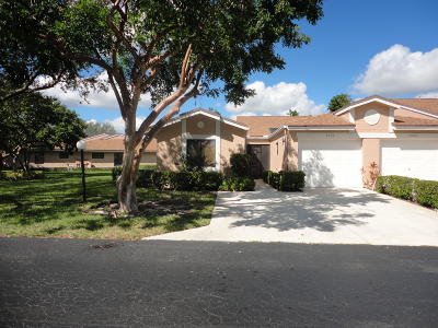 Boca Raton Single Family Home For Sale: 8156 Springlake Drive #A
