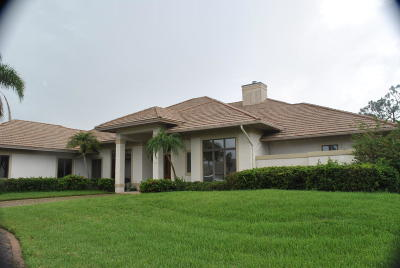 Palm City Single Family Home Contingent: 1681 SW Thornberry Circle