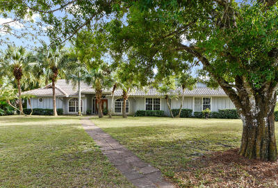 Jupiter Single Family Home For Sale: 1760 SE Colony Way