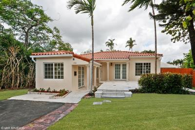 Miami Single Family Home For Sale: 1315 S Biscayne Point Road