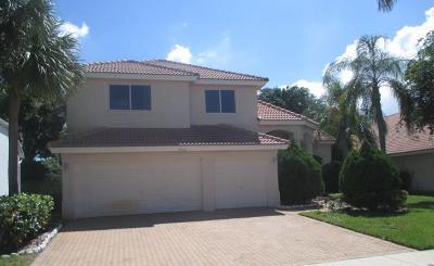 Boca Raton Single Family Home For Sale: 19910 Dinner Key Drive