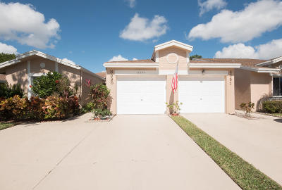 Boca Raton Single Family Home Contingent: 8095 Songbird Terrace
