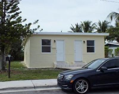Boynton Beach Rental For Rent: 418 NW 11th Avenue