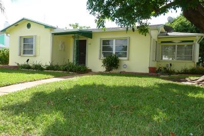 Lantana Single Family Home For Sale: 722 W Palm Street