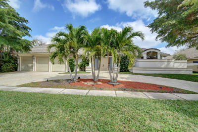 Boca Raton Single Family Home For Sale: 3055 Hampton Place