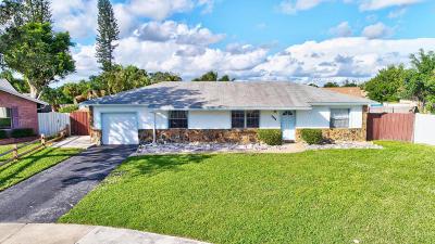 Boca Raton Single Family Home For Sale: 9140 Southampton Place