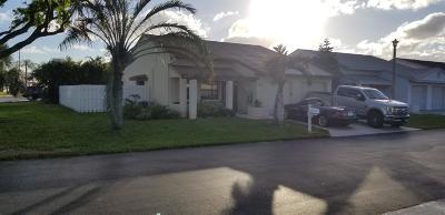 Boynton Beach Single Family Home For Sale: 57 Paxford Lane