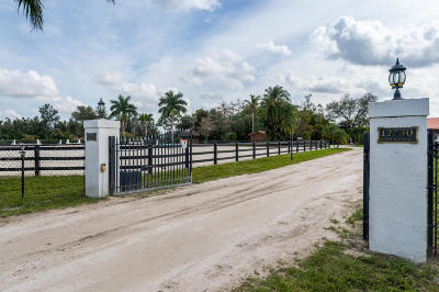Palm Beach County Single Family Home For Sale: 12750 Indian Mound Road