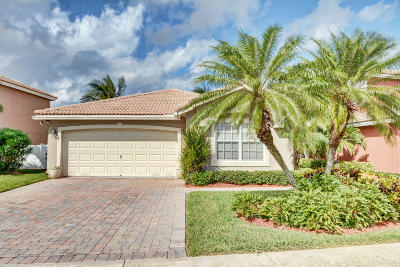 West Palm Beach Single Family Home Contingent: 3224 Turtle Cove