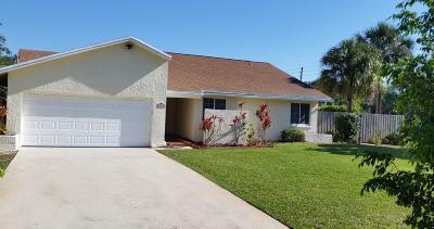 Delray Beach Single Family Home For Sale: 4517 Palm Ridge Boulevard